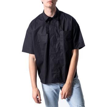 textil Hombre Camisas manga corta Antony Morato MMSS00162-FA450009 Nero