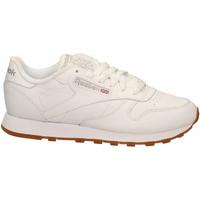Zapatos Mujer Fitness / Training Reebok Sport CL LTHR white-gum