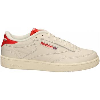 Zapatos Hombre Fitness / Training Reebok Sport CLUB C 85 MU chalk-radred-humblu