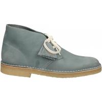 Zapatos Hombre Botas de caña baja Clarks DESERTBOOT M blue-grey