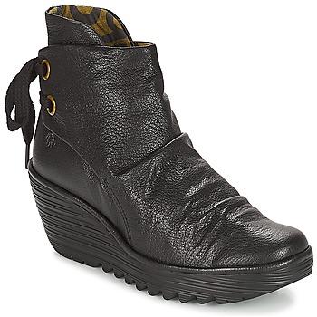 Zapatos Mujer Botines Fly London YAMA Negro