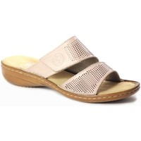 Zapatos Mujer Zuecos (Mules) Rieker 6081231 Rosa
