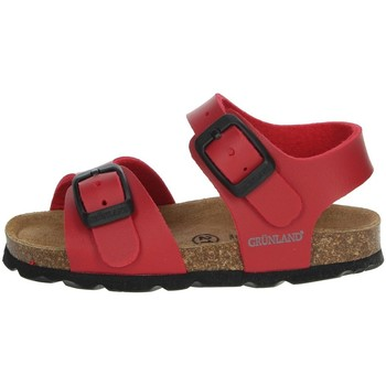 Zapatos Niño Sandalias Grunland SB0027-40 Rojo