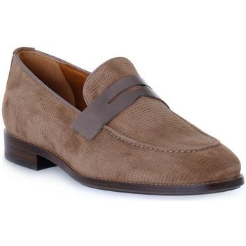 Zapatos Hombre Mocasín Frau HIVE NAPPA TORTORA Beige