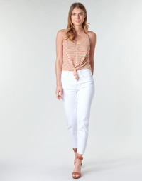 textil Mujer pantalones con 5 bolsillos Only ONLEMILY Blanco