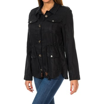 textil Mujer Chaquetas Superdry Luxe Utility Shirt Jacket Negro