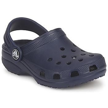 Zapatos Niños Zuecos (Clogs) Crocs CLASSIC KIDS Marino