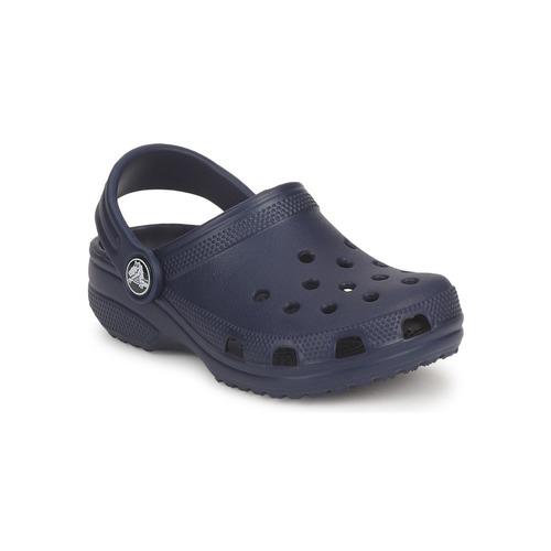 Zapatos Niños Zuecos (Mules) Crocs CLASSIC KIDS Marino