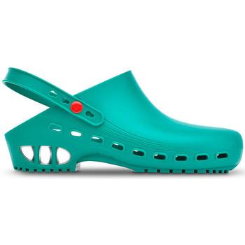 Zapatos Zuecos (Clogs) Saguy's DE TRABAJO SAGUYS PROFESSIONAL VERDE