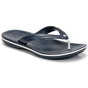 Zapatos Chanclas Crocs CROCBAND FLIP Marino