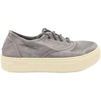 Zapatos Mujer Zapatillas bajas Natural World Basket Platform Grise 623-6112E Gris