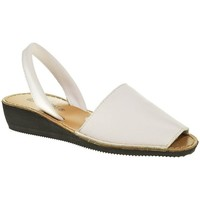 Zapatos Mujer Sandalias Duendy MENORQUINA SEÑORA  BLANCO Blanco
