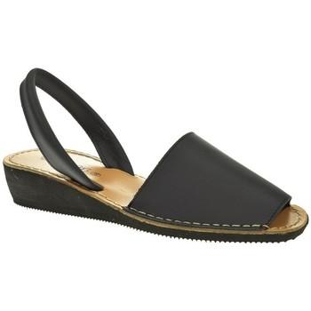 Zapatos Mujer Sandalias Duendy MENORQUINA SEÑORA  MARINO Azul