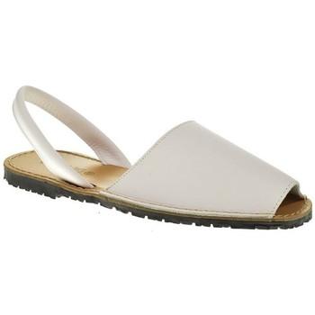 Zapatos Hombre Sandalias Duendy 350 Blanco
