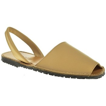 Zapatos Hombre Sandalias Duendy 350 Beige