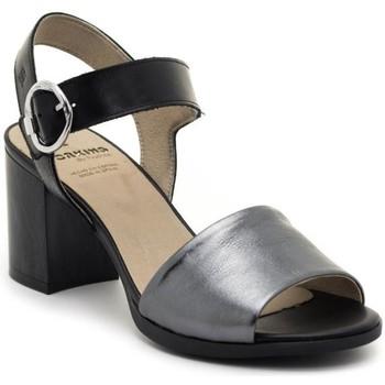 Zapatos Mujer Sandalias Dorking D8174-LATQ Negro