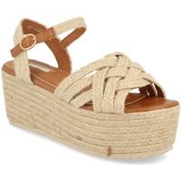 Zapatos Mujer Sandalias Buonarotti 1FF-0026 Beige
