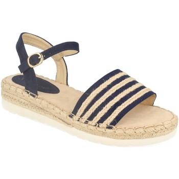 Zapatos Mujer Sandalias Suncolor 9085 Azul