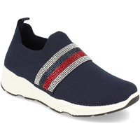 Zapatos Mujer Slip on Buonarotti 1QQ-0293 Azul