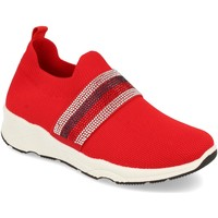 Zapatos Mujer Slip on Buonarotti 1QQ-0293 Rojo