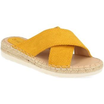 Zapatos Mujer Zuecos (Mules) Suncolor 9082 Amarillo