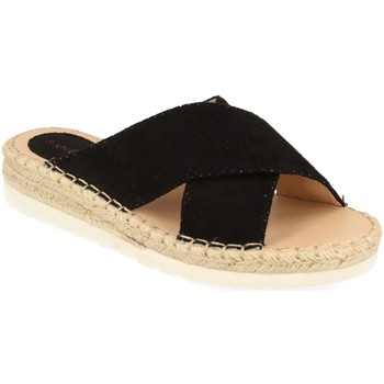 Zapatos Mujer Zuecos (Mules) Suncolor 9082 Negro
