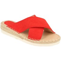 Zapatos Mujer Zuecos (Mules) Suncolor 9082 Rojo