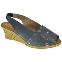 Zapatos Mujer Sandalias Duendy 517 Azul