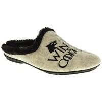 Zapatos Mujer Pantuflas Garzon 5070 Negro
