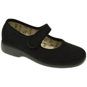 Zapatos Mujer Pantuflas Garzon 3065 Negro