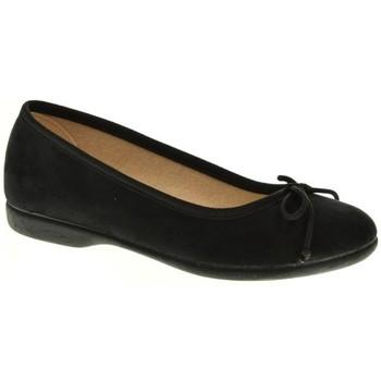 Zapatos Niña Bailarinas-manoletinas Tokolate MANOLETINA NIÑA  NEGRO Negro