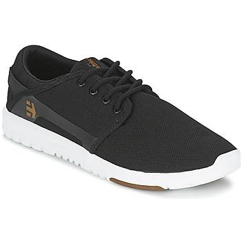 Zapatos Hombre Zapatillas bajas Etnies SCOUT Negro / Blanco