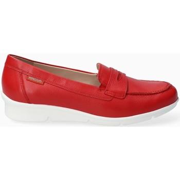 Zapatos Mujer Mocasín Mephisto DIVA Rojo