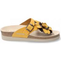 Zapatos Mujer Zuecos (Mules) Mephisto HELENFLOWER Amarillo