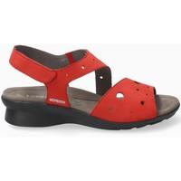 Zapatos Mujer Sandalias Mephisto PHIBYPERF Rojo