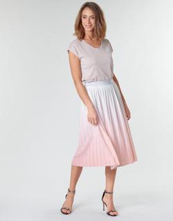 textil Mujer Faldas Only ONLDIPPY Blanco