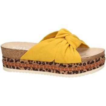 Zapatos Mujer Sandalias Bullboxer Bull Boxer sandales jaune 886030F1T Amarillo