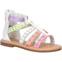 Zapatos Niña Sandalias Charlie Co B144910-B1758 Blanco