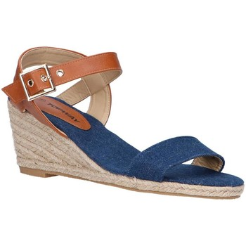 Zapatos Mujer Alpargatas Top Way B807743-B6600 Azul
