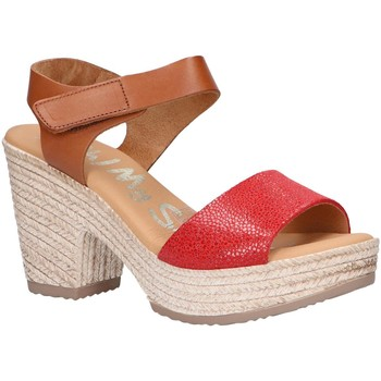Zapatos Mujer Sandalias Oh My Sandals 4709-CR4CO Rojo