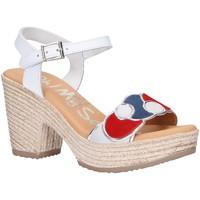 Zapatos Mujer Sandalias Oh My Sandals 4710-V1CO Blanco