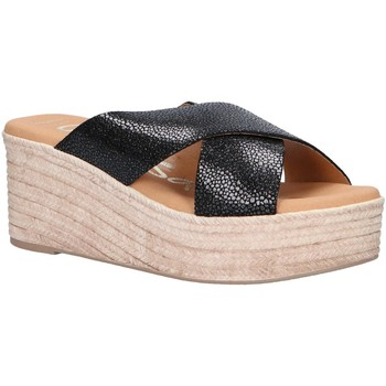 Zapatos Mujer Alpargatas Oh My Sandals 4723-CR2 Negro