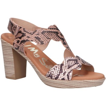 Zapatos Mujer Sandalias Oh My Sandals 4728-RE88CO Beige