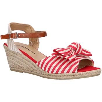 Zapatos Mujer Alpargatas Top Way B269193-B6600 Rojo
