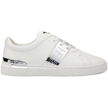 Zapatos Zapatillas bajas Ed Hardy Stripe low top-metallic white/silver Blanco