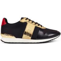 Zapatos Zapatillas bajas Ed Hardy Mono runner-metallic black/gold Negro