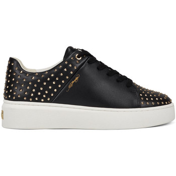 Zapatos Zapatillas bajas Ed Hardy Stud-ed low top black/gold Negro