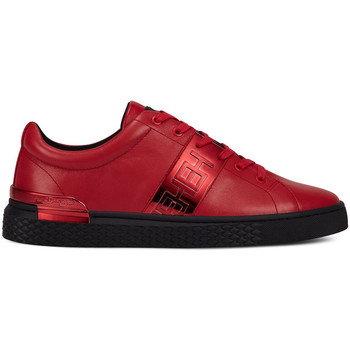 Zapatos Hombre Zapatillas bajas Ed Hardy - Stripe low top-metallic red/black Rojo