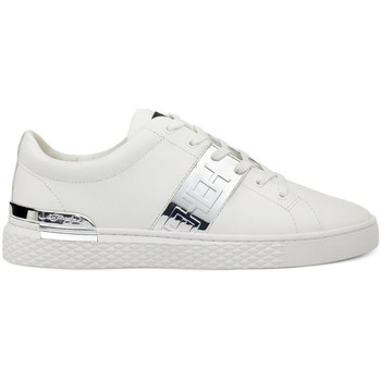 Zapatos Hombre Zapatillas bajas Ed Hardy - Stripe low top-metallic white/silver Blanco
