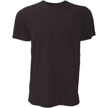 textil Hombre Camisetas manga corta Bella + Canvas CA3001 Gris Oscuro
